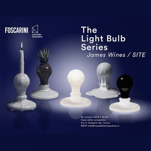 Presentazione di The Light Bulb Series - James Wines