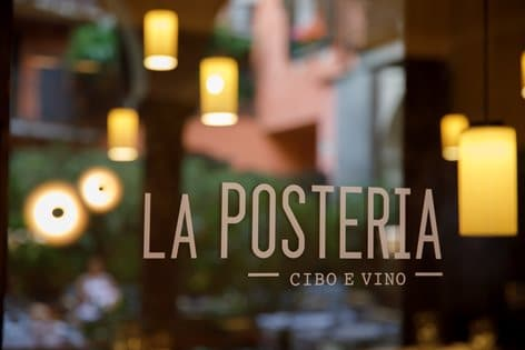 La posteria cibo vino e light design